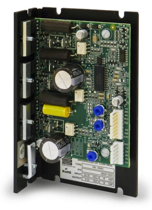New 12 And 24 Volt Brushless DC Speed Controls