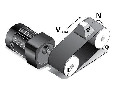 Bodine-gearmotors-for conveyors_07470035_belt-drive