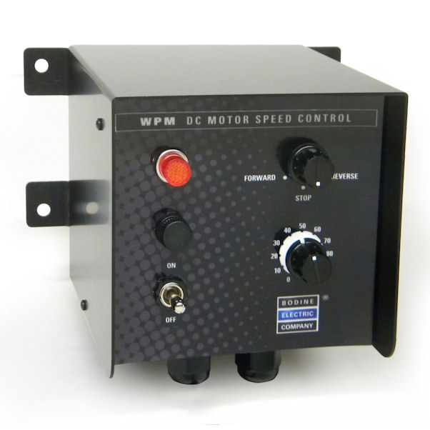New DC Motor Speed Control with Dynamic Braking