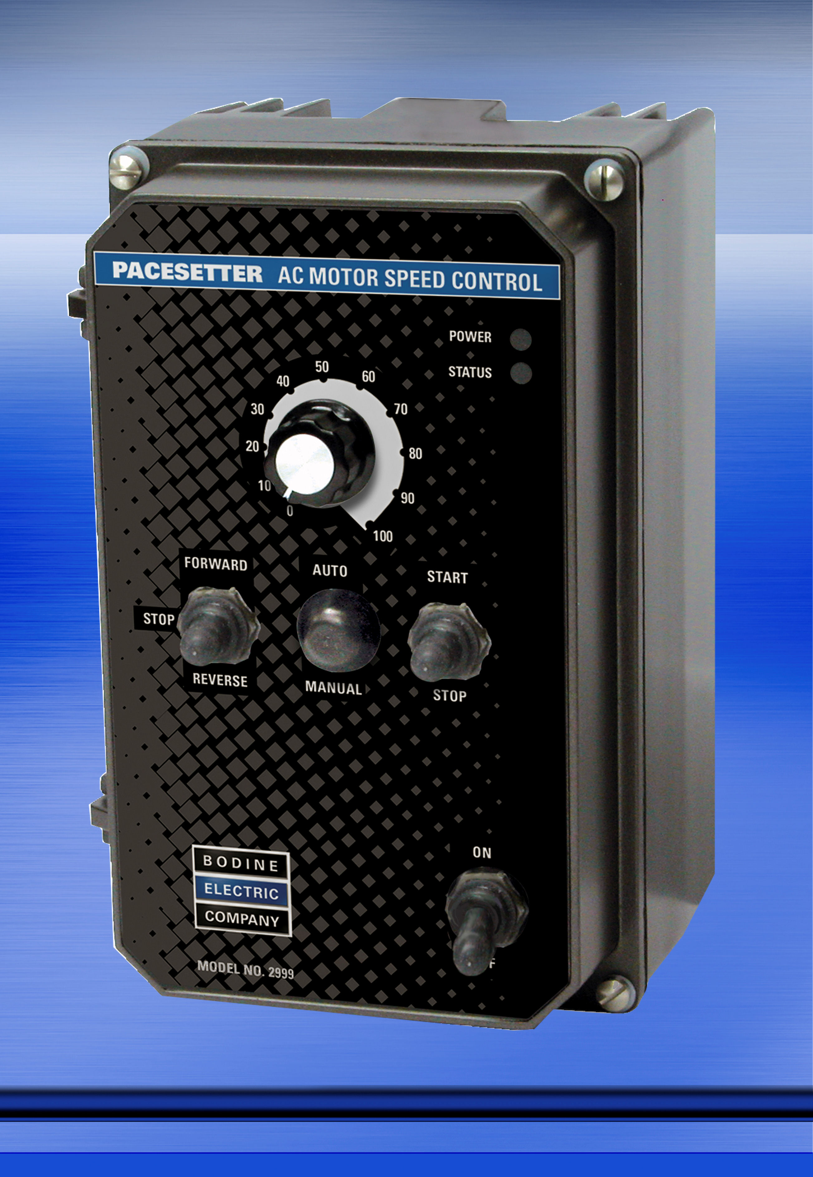 Model 2999 New Rugged AC Motor Speed Control