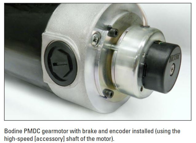 Electromagnetic Holding Brakes for Small Gearmotors and Motors