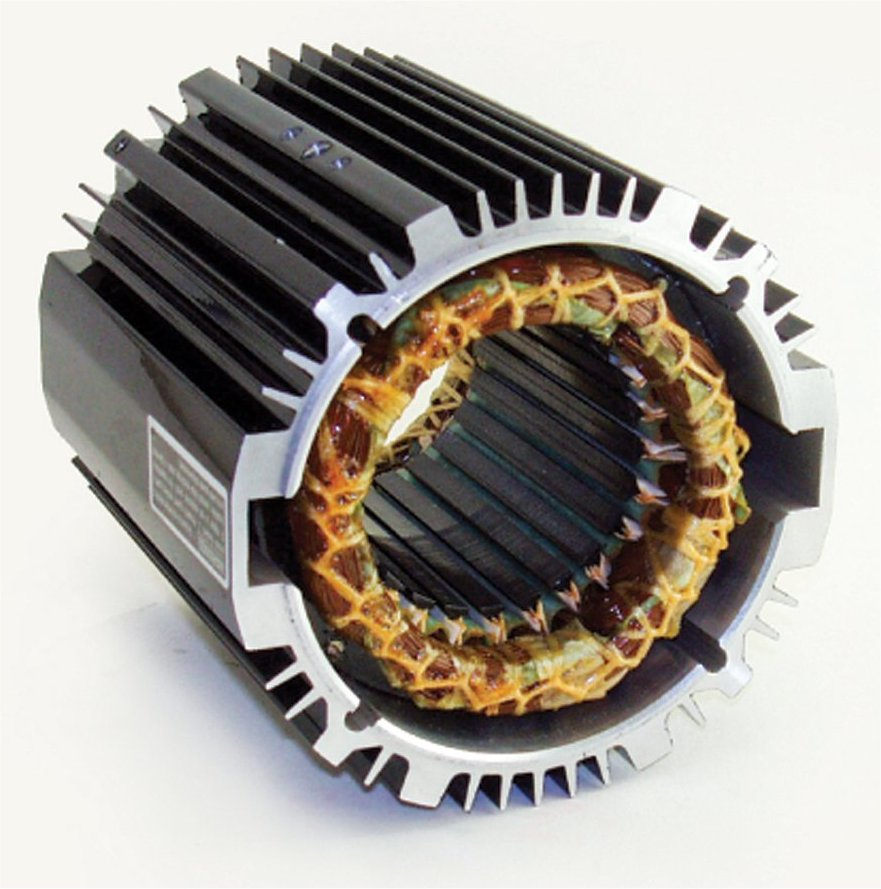 AC Induction Motors with Squirrel Cage Rotors