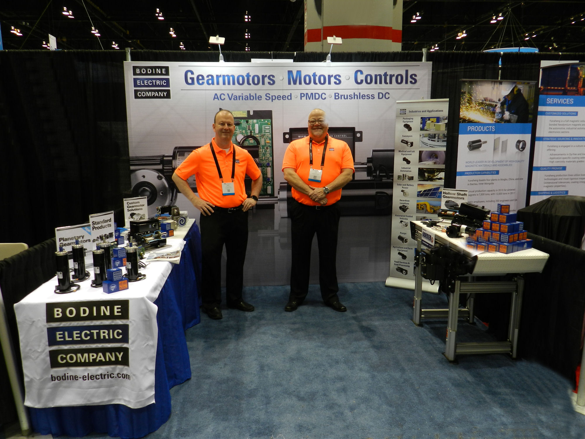 Bodine at Automate Show Chicago - Booth 253