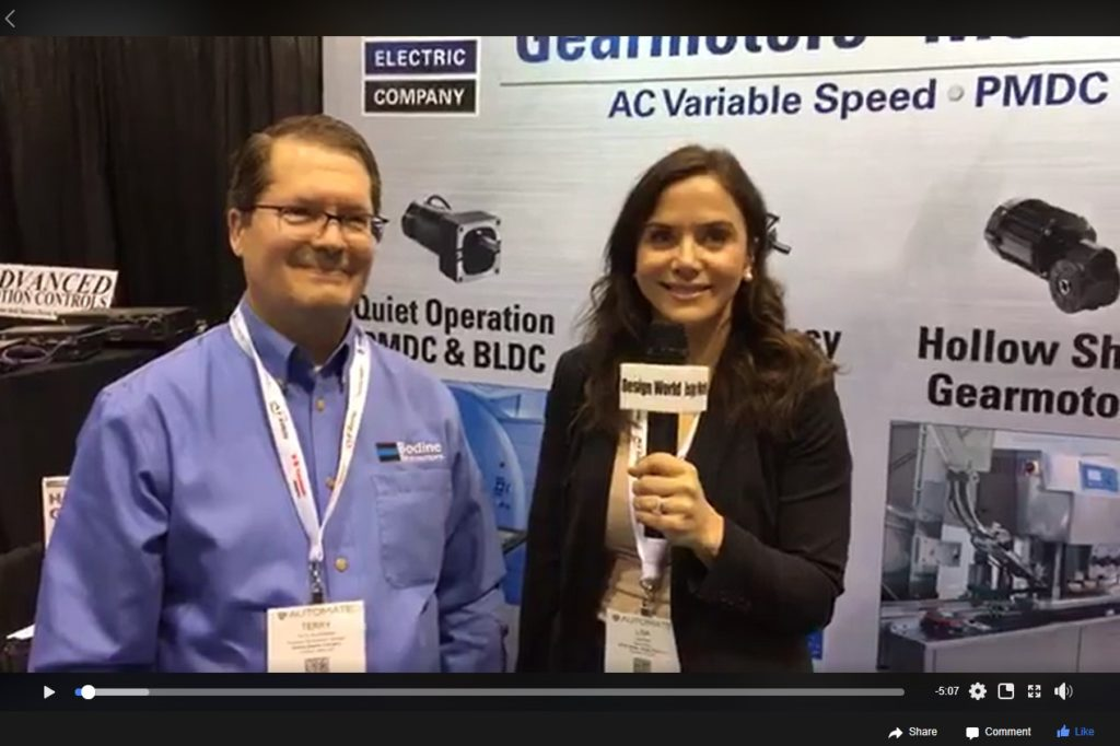 Gearmotor Talk with Lisa and Terry - Automate 2019