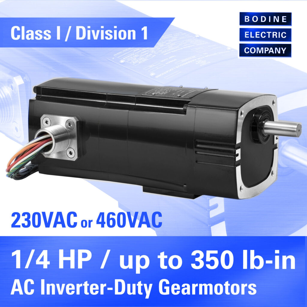 New CI/D1 Explosion-Proof AC & BLDC Type