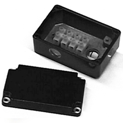 Die cast metric terminal box kit with terminal block for 33A, 34R, 42A, 42R, and 48R motors and gearmotors [model 1984]