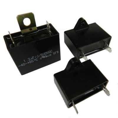 Capacitor; plastic box type; 1.3 MFD / 440V [Item 49400091]