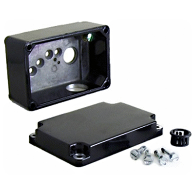 Die cast terminal box kit for 33A, 34R, 42A, 42R, and 48R motors and gearmotors [model 0984]