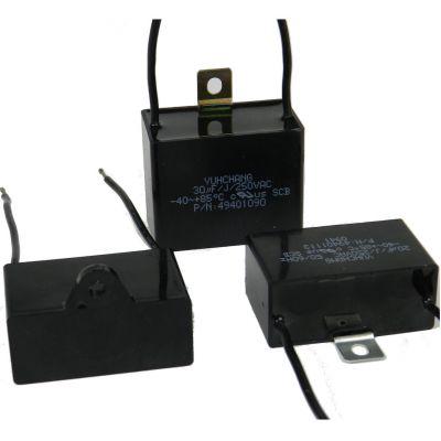 Capacitor; plastic box type; 27.5 MFD / 250V [Item 49401112]