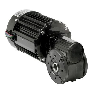 42R-5L/H Series 3-Phase AC Inverter Duty Right Angle Hollow Shaft Gearmotor