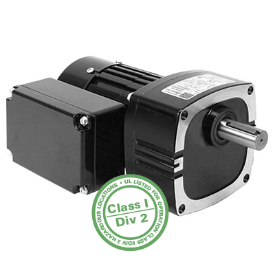 34R4-FX Series Parallel Shaft AC 3-Phase Inverter Duty Gearmotors Class 1, Division 2