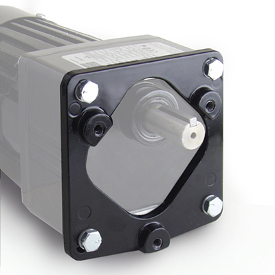 Adaptor plate kit for E, F, W, WX and FX gearmotors [model 0995]
