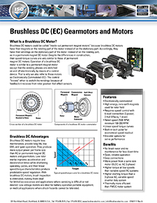 Introduction to Brushless DC Gearmotors and Motors