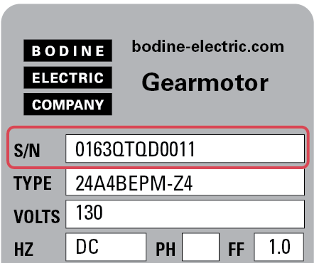AC & DC Electric Gearmotors / Electric Gear Motors - Bodine
