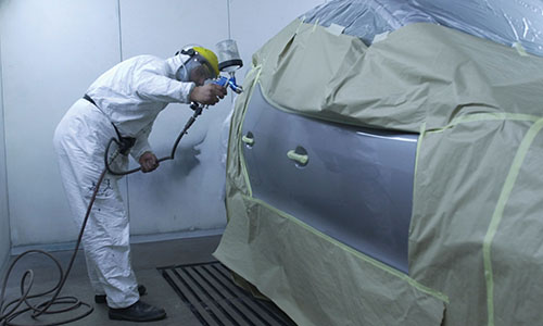 Hazardous Location Application - Paint Spray Booth / Industrial Painting